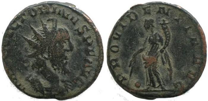 Ancient Coins - Victorinus 268-270AD antoninianus -  PROVIDENTIA AVG