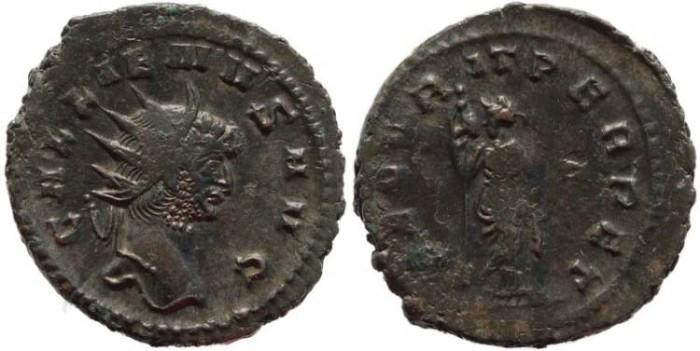 Ancient Coins - Gallienus antoninianus - SECVRIT PERPET - Rome Mint
