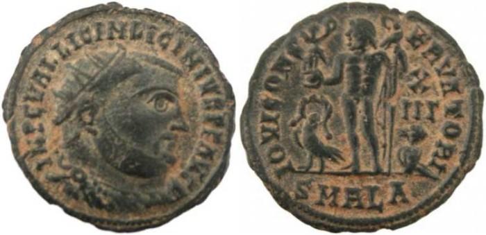 Ancient Coins - Licinius I - IOVI CONSERVATORI -Alexandria Mint