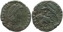 Ancient Coins - Roman coin of Constantius II - FEL TEMP REPARATIO