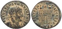Ancient Coins - Roman coin of Constantius II - PROVIDENTIAE CAESS - Thessalonica