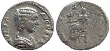 Ancient Coins - Julia Domna wife of Septimius Severus - VESTA