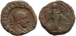 Ancient Coins - Roman Egypt - Maximianus and Nike