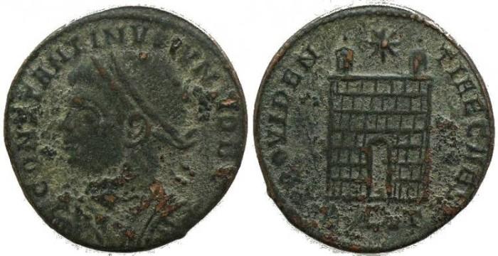 Ancient Coins - Constantine II - PROVIDENTIAE CAESS