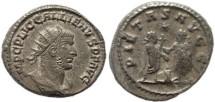 Ancient Coins - Gallienus silver antoninianus - PIETAS AVGG