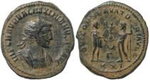 Ancient Coins - Maximian Antoninianus - IOVI CONSERVATORI AVGG