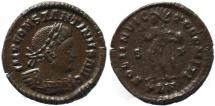 Ancient Coins - Roman coin of Constantine I - SOLI INVICTO COMITI - London