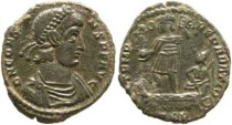 Ancient Coins - Constans Ae2 20x22mm, Treveri mint