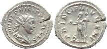 Ancient Coins - Philip II AR Silver antoninianus - PRINCIPI IVVENT