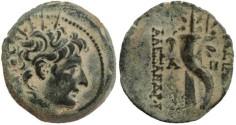 Ancient Coins - Seleukid Kingdom Alexander II Zabinas 128-122 BC