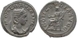 Ancient Coins - Otacilia Severa silver antoninianus - CONCORDIA AVGG