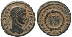 Ancient Coins - Roman Empire - Crispus - CAESARVM NOSTRORVM VOT X -  Arelate 322-325AD