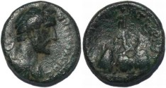 Ancient Coins - Antoninus Pius, Caesarea, Cappadocia 138-161AD L I 1708