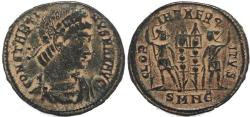 Ancient Coins - Roman coin of Constantine I - GLORIA EXERCITVS - Nicomedia