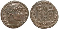 Ancient Coins - Roman coin of Constantine I - GLORIA EXERCITVS - Alexandria