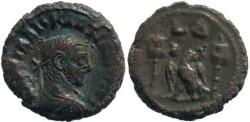 Ancient Coins - Diocletian Potin Tetradrachm, 287/288AD (Year 4), Egypt-Alexandria - Emmett 4039, Curtis 1974; Milne 4891; BMC 2539
