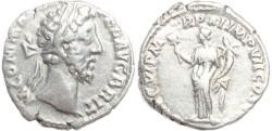Ancient Coins - Commodus denarius - (LIB{ERAL})AVG VI P M TR P XI IMP VII COS V P P S C