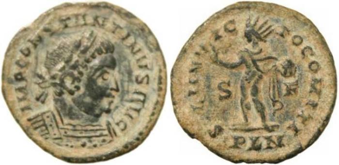 Ancient Coins - Constantine I - SOLI INVICTO COMITI - LONDINIUM MINT