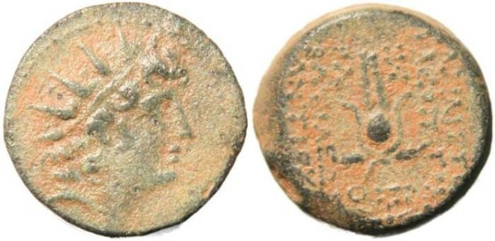 Ancient Coins - Seleucid Kingdom Antiochus VIII & Cleopatra Thea