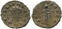 Ancient Coins - Gallienus antoninianus - SECVRIT PERPET