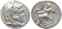 Ancient Coins - Ancient Macedonian coin of Alexander III 'The Great' AR Tetradrachm - Babylon Mint