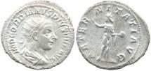 Ancient Coins - Roman Empire Gordian III AR Antoninianus - AETERNITATI AVG