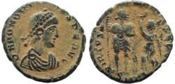 Ancient Coins - Honorius - VIRTVS EXERCITI - Cyzicus Mint