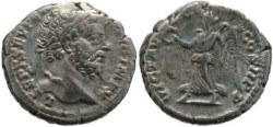 Ancient Coins - Septimius Severus 193-211AD denarius - Victory