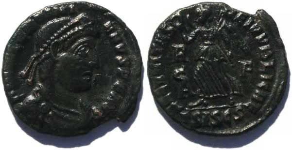 Ancient Coins - Valentinian I  Siscia Mint 364-375AD