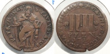 World Coins - GERMAN STATES: Munster 1714-GS 4 Pfennig