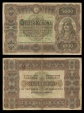 World Coins - HUNGARY Ministry of Finance 1-1-1920 Five Thousand Korona Fine