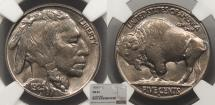 Us Coins - 1929 S Buffalo 5 Cent (Nickel) NGC MS-63