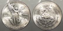 World Coins - MEXICO: 1983-M 1oz Silver Libertad Onza
