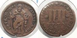 World Coins - GERMAN STATES: Munster 1714-GS 4 Pfennig
