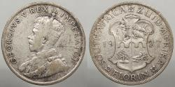 World Coins - SOUTH AFRICA: 1927 George V Florin
