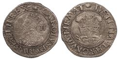 World Coins - ENGLAND Charles I 1625-1649 Halfgroat 1638-1642 EF
