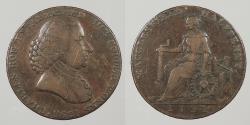 World Coins - GREAT BRITAIN: 1791 Macclesfield. Halfpenny Conder Token