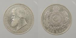 World Coins - BRAZIL: 1888 500 Reis
