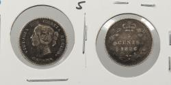 World Coins - CANADA: 1889 Small 6. 5 Cents