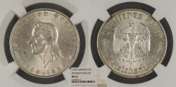 World Coins - GERMANY 1934-F 2 Mark NGC MS-63