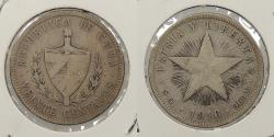 World Coins - CUBA: 1916 20 Centavos