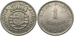 World Coins - MOZAMBIQUE: 1950 1 Escudo