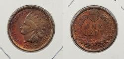 Us Coins - 1897 Indian Head 1 Cent
