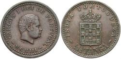 World Coins - INDIA: 1903 1/12 Tanga