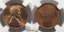 Us Coins - 1920 Lincoln 1 Cent NGC MS-64 RB