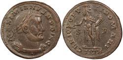 Ancient Coins - Galerius, as Caesar 293-305 A.D. Follis Trier Mint VF