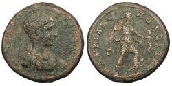 Ancient Coins - Moesia Inferior Marcianopolis Diadumenian, as Caesar 218 A.D. AE23 Good Fine
