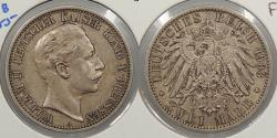 World Coins - GERMAN STATES: Prussia 1903-A 2 Mark