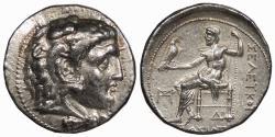 Ancient Coins - Seleukid Kings Seleukos I, Nikator 312-281 B.C. Tetradrachm Near EF