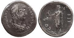 Ancient Coins - Hadrian 117-138 A.D. Cistophoric Tetradrachm Laodicea Mint, in Phrygia. Good VF